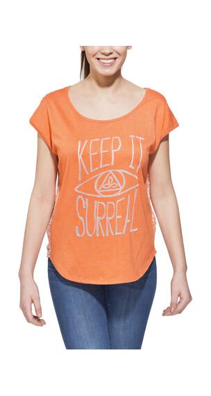 Prana Tandi - T-shirt manches courtes Femme - orange